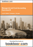 Managerial and Cost Accounting Exercises III