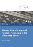 Money Laundering and  Terrorist Financing in the  Securities Sector