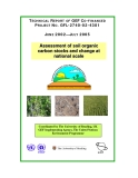 ASSESSMENT OF SOIL ORGANIC CARBON STOCKS AND CHANGE AT NATIONAL SCALE