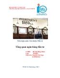 Báo cáo tốt nghiệp: Tổng quan ngân hàng đầu tư