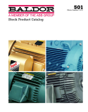 A MEMBER OF THE ABB GROUP: STOCK PRODUCT CATALOG