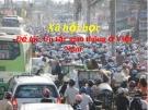 Đề tài: Ùn tắc giao thông ở Việt Nam