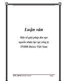 Luận văn: Một số giải pháp đào tạo nguồn nhân lực tại công ty TNHH Daiwa Việt Nam