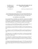 Quyết định số 404/QĐ-CVT