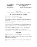 Quyết định số 1567/QĐ-UBND