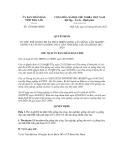 Quyết định số 1724/QĐ-UBND