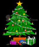 Các bước trang trí cây thông Noel