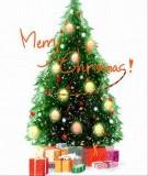 Làm sao để trang trí cây thông Noel trông thật đẹp