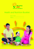 Health and Nutrition Booklet