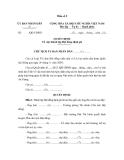 Mẫu Quyết định Về việc thành lập Hội đồng định giá