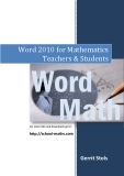 Word 2010 for Mathematics