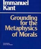 Kant's Groundwork for the Metaphysics of Morals