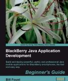 BlackBerry Java Application Development: Beginner's Guide