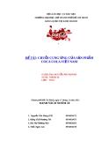 Đề Tài: Chuỗi cung ứng của sản phẩm Cocacola Việt Nam