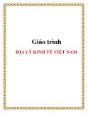Giáo trình Địa lý kinh tế Việt Nam