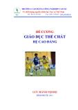 Ebook Giáo dục thể chất - CĐ. Công nghiệp cao su