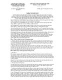 Thông tư liên tịch số 28/2012/TTLT-BGDĐT-BTCBLĐTBXH