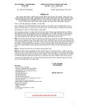 Thông tư số 19/2012/TT-BLĐTBXH
