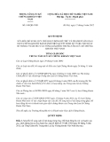 Quyết định số 148/QĐ-VSD