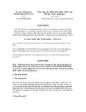 Quyết định số 1654/QĐ-UBND