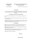 Quyết định số 1561/QĐ-UBND
