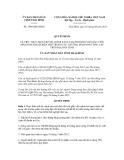 Quyết định số 1908/QĐ-UBND