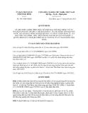 Quyết định số 1913/QĐ-UBND