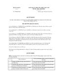 Quyết định số 799/QĐ-BXD