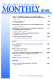 THE AMERICAN MATHEMATICAL  MONTHLY VOLUME 118