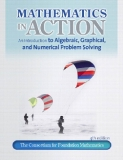 Mathematics in Action An Introduction to Algebraic, Graphical, and Numerical Problem Solving