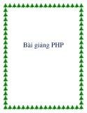 Bài giảng về PHP tiếng việt