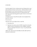 Đề tài: CHIẾN LƯỢC CHIÊU THỊ CHO SẢN PHẨM SỮA TẮM CHIẾT XUẤT HOA ANH ĐÀO CỦA SKIN FOOD