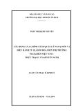 Luận văn: TÁC ĐỘNG CỦA CHÍNH SÁCH QUẢN LÝ NGOẠI HỐI VÀ ĐIỀU HÀNH TỶ GIÁ HỐI ĐOÁI ĐẾN THỊ TRƯỜNG NGOẠI HỐI VIỆT NAM – THỰC TRẠNG VÀ KHUYẾN NGHỊ