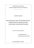 Luận văn: PHÂN TÍCH NHỮNG NHÂN TỐ ẢNH HƯỞNG ĐẾN GIÁ CỔ PHIẾU NIÊM YẾT TRÊN SỞ GIAO DỊCH CHỨNG KHOÁN THÀNH PHỐ HỒ CHÍ MINH