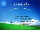 Đề tài: Laser rắn