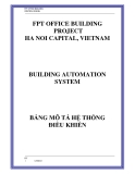 FPT OFFICE BUILDING CONTROL DESIGNFPT OFFICE BUILDING PROJECT HA NOI CAPITAL, VIETNAMBUILDING