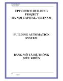 FPT OFFICE BUILDING CONTROL DESIGNFPT OFFICE BUILDING PROJECT HA NOI CAPITAL, VIETNAMBUILDING
