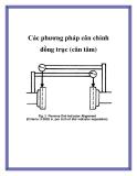 Các phương pháp cân chỉnh đồng trục (cân tâm)