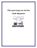 Tầm quan trọng của cân tâm (shaft alignment).Là dân lắp đặt và bảo trì thiết