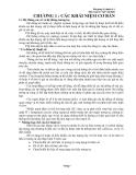 Bài giảng kỹ thuật số 1 - CHƯƠNG 1 : CÁC KHÁI NIỆM CƠ BẢN