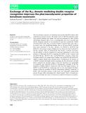 Báo cáo khoa hoc : Exchange of the HCC domain mediating double receptor recognition improves the pharmacodynamic properties of botulinum neurotoxin