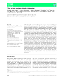Báo cáo khoa hoc : The prion protein binds thiamine