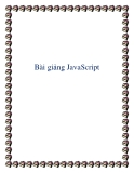 Bài giảng JavaScript