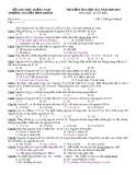 ĐỀ THI KIỂM TRA HỌC KÌ I NĂM 2009-2010 HÓA HỌC 10 CƠ BẢN TRƯỜNG NGUYỄN BỈNH KHIÊM - QUẢNG NAM