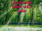Tài nguyên rừng ở Việt Nam