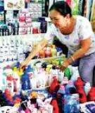 Kinh doanh ở chợ: Buông tay là mất
