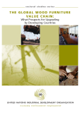 THE GLOBAL WOOD FURNITURE VALUE CHAIN: What Prospects for Upgrading  by Developing Countries