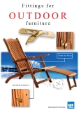 Fittings for OUTDOOR furniture
