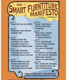 THE SMART FURNITURE MANIFESTO (VERSION 2)