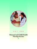 Maternal and Child Health Nursing Practice